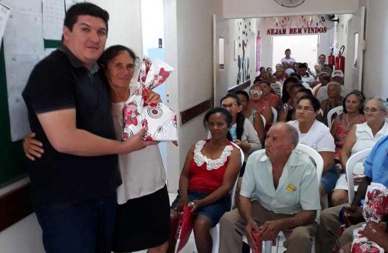 Prefeitura de São Miguel da Baixa Grande realiza atividades com os membros do grupo de hiperdia